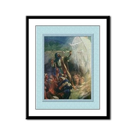 Shepherds-Copping-9x12 Framed Print