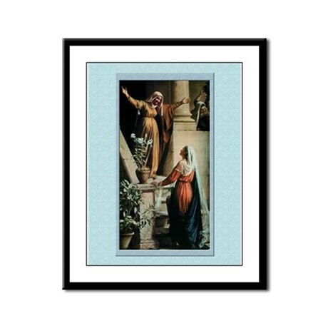 Visitation-Bloch-9x12 Framed Print