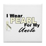 I Wear Pearl 3 (Uncle LC) Tile Coaster
