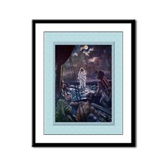 Walking on the Sea-Brock-9x12 Framed Print