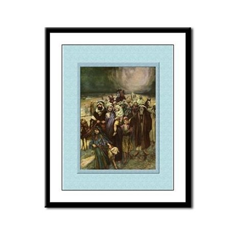 Exodus-Unknown-9x12 Framed Print
