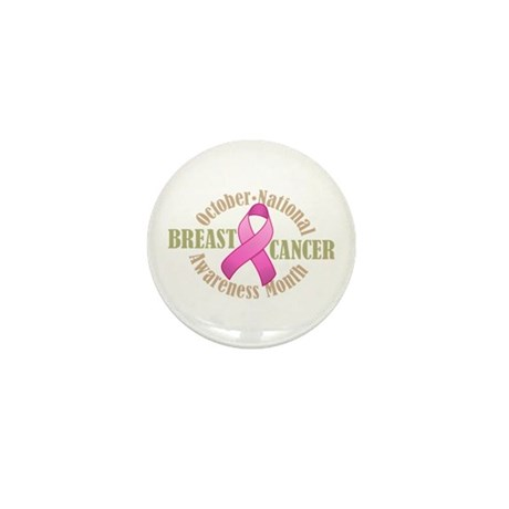 Breast Cancer Month Mini Button