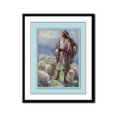 Good Shepherd-Copping-9x12 Framed Print