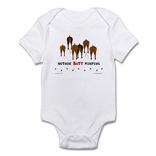 Nothin' Butt MinPins Infant Bodysuit