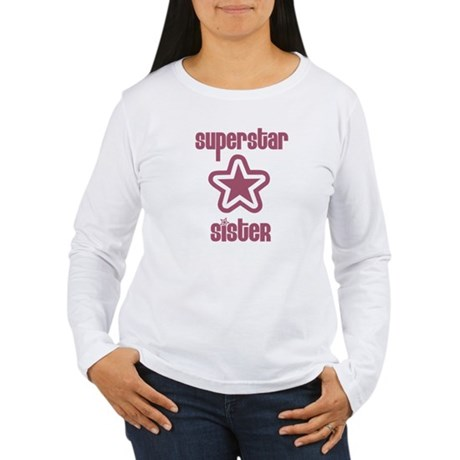 Superstar Sister Women's Long Sleeve T-Shirt