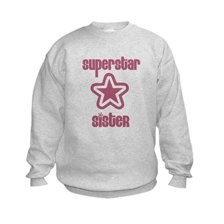 Superstar Sister Kids Sweatshirt