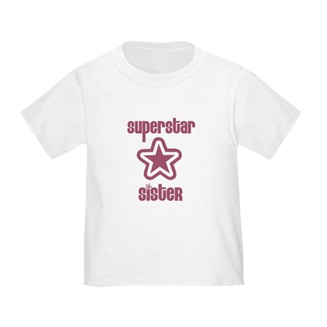 Superstar Sister Toddler T-Shirt