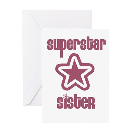 Superstar Sister Greeting Card
