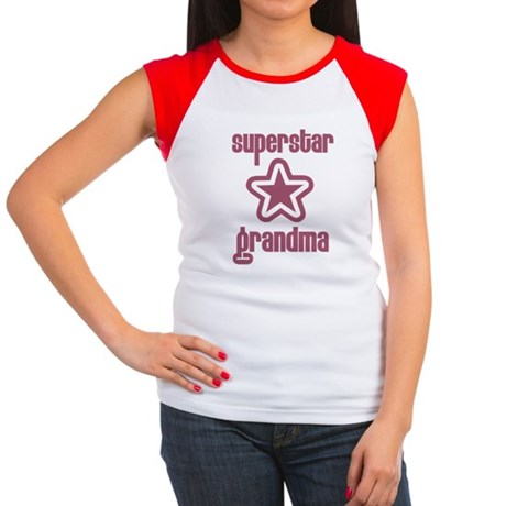 Superstar Grandma Women's Cap Sleeve T-Shirt