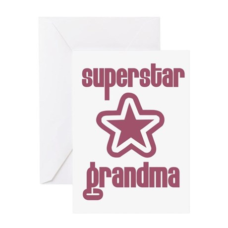 Superstar Grandma Greeting Card