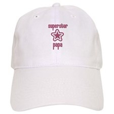 Superstar Papa Baseball Cap