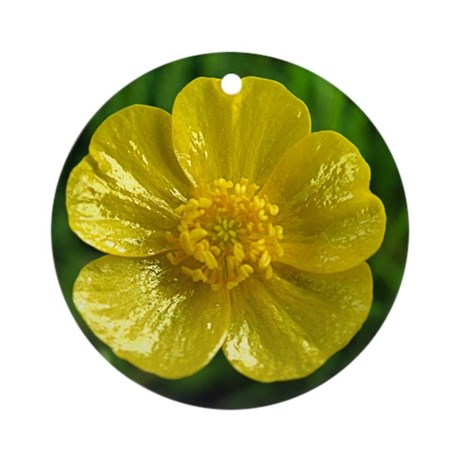 Buttercup Ornament (Round)