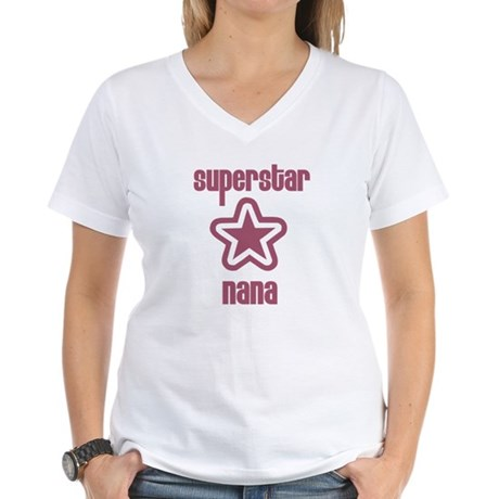 Superstar Nana Women's V-Neck T-Shirt