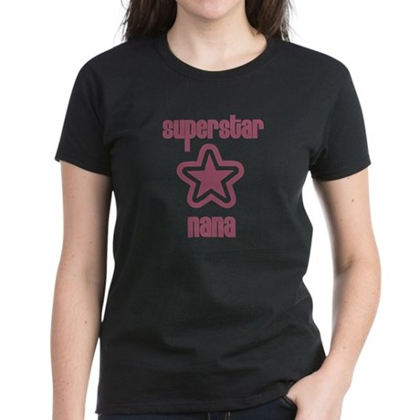 Superstar Nana Women's Dark T-Shirt