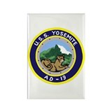 USS Yosemite (AD 19) Rectangle Magnet (10 pack)