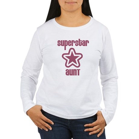 Superstar Aunt Women's Long Sleeve T-Shirt