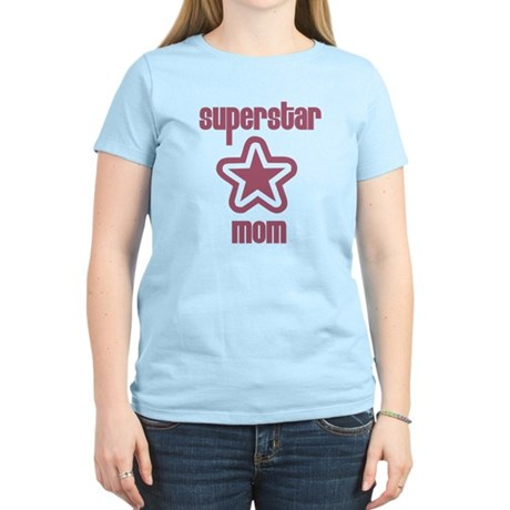 Superstar Mom Women's Light T-Shirt
