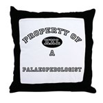 Property of a Palaeopedologist Throw Pillow
