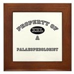 Property of a Palaeopedologist Framed Tile