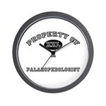 Property of a Palaeopedologist Wall Clock