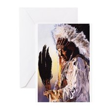 Unique Native american Greeting Cards (Pk of 20)