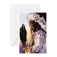 Unique Shamanism Greeting Card
