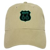 Route 66 Neon - Teal Cap