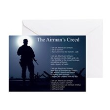 NEW! Airman's Creed Greeting Cards (Pk of 10)