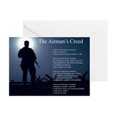 NEW! Airman's Creed Greeting Card