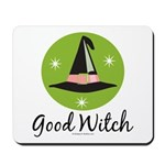 Witches Hat Good Witch Mousepad