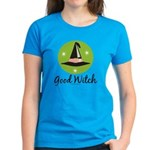 Witches Hat Good Witch Women's Dark T-Shirt