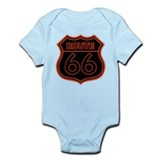 Route 66 Neon - Orange Onesie