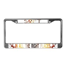 BEAR - SOFT Places - License Plate Frame