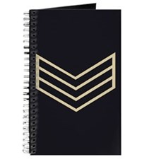 Sergeant Chevrons<BR> Personal Log Book