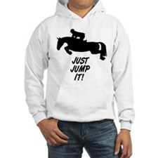 Just Jump It. Horse Hoodie