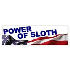 The Power of Sloth Bumper Bumper Sticker
