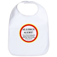 Unique Allergy awareness Bib