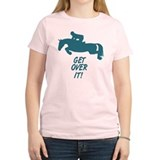 Get Over It Hunter Jumper Horse T-Shirt