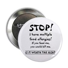 Food Allergy Button