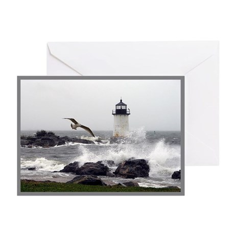 """Beautiful Lighthouses"" Greeting Cards (Pk of 20)"