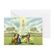 Our Lady of Fatima Greeting Cards (Pk of 20)