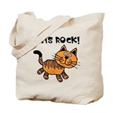 Cats Make Me Happy Tote Bag