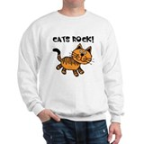 Cats Make Me Happy Sweatshirt