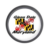 Glenn Dale Maryland Wall Clock