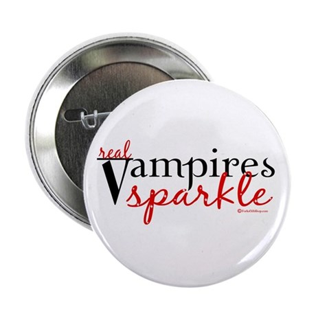 Real Vampires Sparkle Button