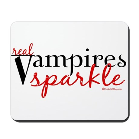 Real Vampires Sparkle Mousepad