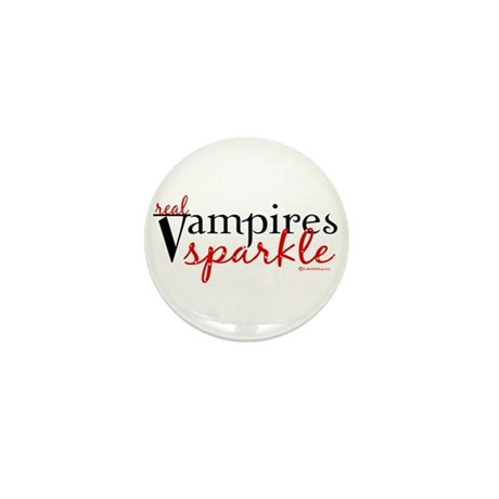 Real Vampires Sparkle Mini Button