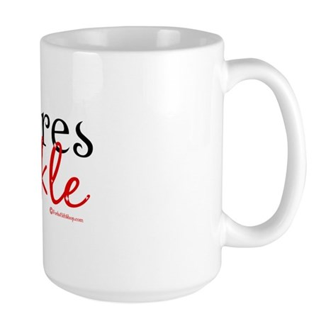 Real Vampires Sparkle Large Mug