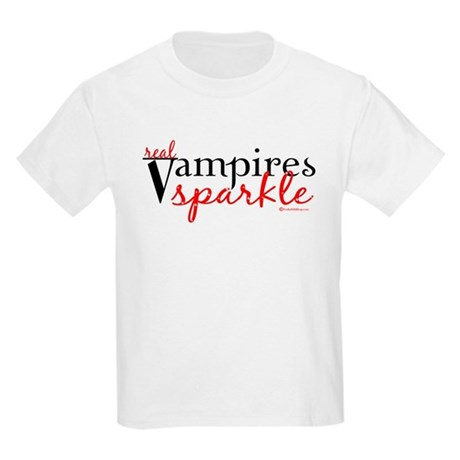 Real Vampires Sparkle Kids Light T-Shirt