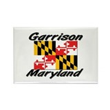 Garrison Maryland Rectangle Magnet
